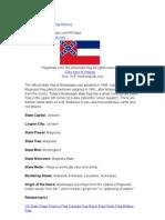 Mississippi State Flag History