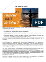 Lamour Agape de Dieu (2)