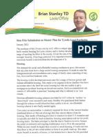 Sinn Fein proposal for Tyrell's Land