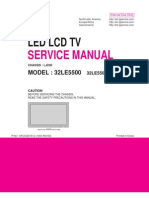 Service Manual LG LED 32LE5500.