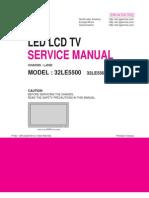Service Manual LG LED 32LE5500.