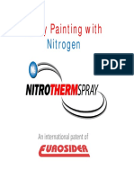 7 Spray Painting with Nitrogen