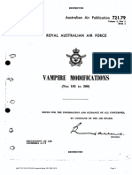 Vampire FB.30 Modifications List Pt.2