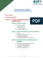 SOMMAIRE Remerciement Introduction Gener
