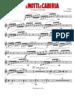 Rota N. - Le notti di Cabiria - Brass Ensemble - Glockenspiel