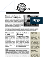 Boletin La Unión N° 1-1