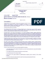 9 Manliclic v. Calaunan G.R. No.150157, January 25, 2007
