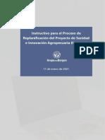1_Instructivo_proceso de replanificación_Proyecto DR-L1137_11_01_21