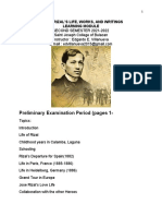 GE12 - RIZAL'S LIFE, WORKS, AND WRITINGS EDVILLANUEVA