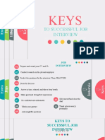 1.2. Keys for Successful Job Interview