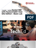 TechED EMEA 2019 - VZ08 - Distributed HMI with FactoryTalk® View Site Edition Basic Lab