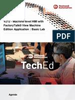 TechEd EMEA 2019 - VZ12 - Machine-level HMI With FactoryTalk View Machine Edition Application - Basic L
