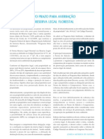 Agenda PMR - Reserva Legal