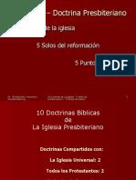 10DoctrinasBiblicasdelaIglesiaPresbiteriana