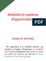 3- Mobilité et systéme d'évaluation