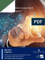 Africa Data Lab - Plaquette Big Data Engineer - V2021