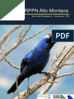 Aves Da Rppn Alto-montana (Atualizado 25-10-2014)