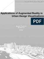 Applications of Augmented Reality in Urban Design Visualisations