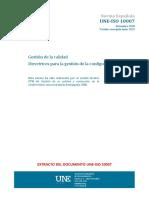 UNE-ISO 10007  2018