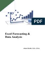 Microsoft Excel Forecasting & Data Analysis