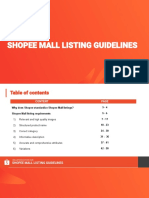 Mall Listing Guidelin