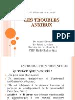 LES TROUBLES ANXIEUX ppt