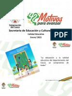 2. Presentación Guía Pedagógica de Buenas Prácticas