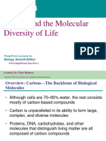 ENBIO Chapter 4 Carbon and the Molecular Divesity of Life