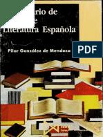 González de Mendoza, Pilar - Diccionario de Temas de Literatura