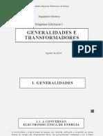 Generalidades e Transformadores