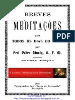 Frei Pedro Sinzig_OFM_Breves Meditações