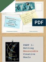 Measurable Creative Goals
