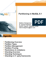 2008-07-01 - Partitioning in MySQL