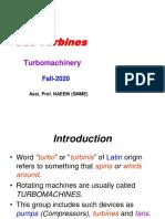 8. Turbomachinery (Part-I)