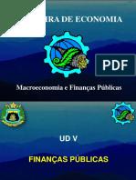 Aula 10 e 11 - Finanças públicas