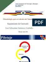 Presentacion a Facultades Calculo de La Muestra