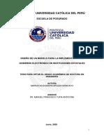 Bruzza Moncayo Mariuxi Diseño Modelo Implementación