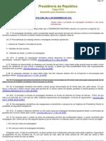 Leis 5859 - DISPOE SOBRE EMPREGADA DOMÉSTICA