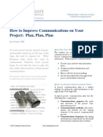 How to Improve Communications on Your Project