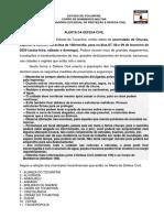 ALERTA DA DEFESA CIVIL 07 DE FEVEREIRO