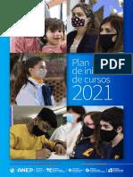 Plan de inicio de cursos 2021