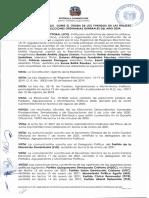 Resolución sobre el orden de los partidos en las boletas electorales para elecciones de 2024