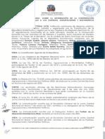 Reglamento que determina que solo el PRM y PLD son partidos mayoritarios en RD