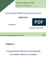 Cours Sureté et Fiabilité (7éme Séance) - Copie