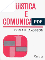 3) Linguística e Comunicação - Roman Jakobson