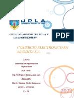 COMERCIO ELECTRONICO EN MAGDITA S.A.