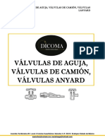Cátalogo Válvulas de Aguja-Camión-Lanyard DICOMA