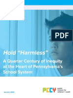 Public Citizens for Children and Youth Hold Harmless Report