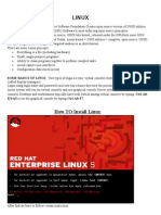 LINUX report