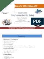 Seminaire Eloboration & Suivi Des Budgets